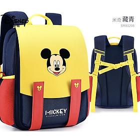Balo chống gù lưng Disney cao cấp hàng chính hãng siêu nhẹ chống thấm nước cho bé từ lớp 1