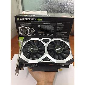 Card màn hình MSI GTX 1650 D6 VENTUS XS 4G OC- Hàng chính hãng