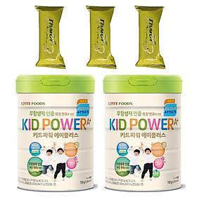 Combo 2 hộp Sữa bột KID POWER A+ Hàn Quốc 750G ( cho trẻ từ 1-10 tuổi) - Giúp trẻ phát triển chiều cao, trí não, tăng cường sức đề kháng – Tặng 3 bánh Quế cuộn hiệu Kapad