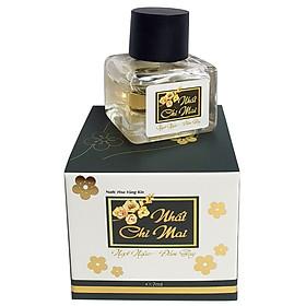 Nước hoa vùng kín Nhất Chi Mai của Vioba: Mang lại hương thơm nhẹ nhàng quyến rũ cho cơ thể, giúp khử mùi hôi, mùi khó chịu đặc biệt các vùng: Dưới cánh tay, vùng kín...Góp phần đem lại cảm giác tự tin sau khi sử dung. Lọ 7ml