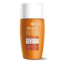 Kem Chống Nắng Giảm Nguy Cơ Kích Ứng Vùng Mắt Rilastil Sun System Ppt Water Touch Fluid Reduced Eye Stinging Spf 50+ 50ml
