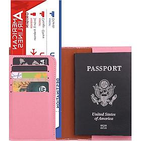 Bao da Hộ chiếu / Passport kiêm ví đựng tiền, thẻ