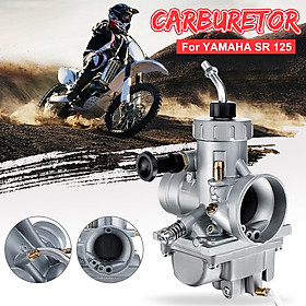 New Metal Motorcycle Carburetor For YAMAHA SR 125 ALL
