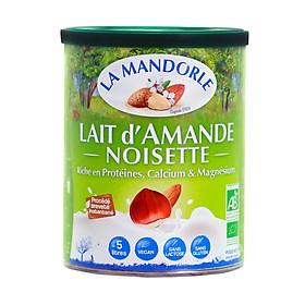 Sữa hạnh nhân hạt phỉ hữu cơ La mandorle - 400g