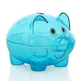 Hình đại diện sản phẩm Money Saving Box Coin Bank Novelty Pig Shape Plastic Living Room Bookcase