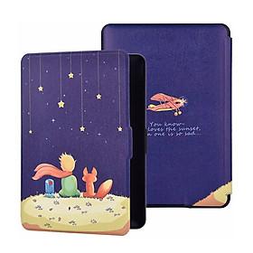 Bao Da Cover Máy Đọc Sách Kindle Paperwhite Gen 4 (10th) Hoa Văn