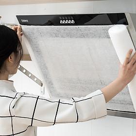 Cuộn giấy lót cho máy hút nhà bếp, vệ sinh máy, lọc hoàn toàn khói 8107