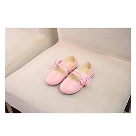 Giày búp bê bé gái bông bên hông