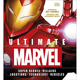 Ultimate Marvel (Includes Two Exclusive Prints) (Foreword by Roy Thomas)