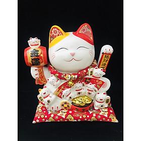 Mèo Thần Tài Maneki - Neko 28cm