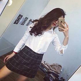 Áo dài tay nữ lụa mỏng