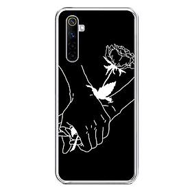 Ốp lưng điện thoại REALME 6 - Silicon dẻo - 0081 HANDBYHAND - Hàng Chính Hãng