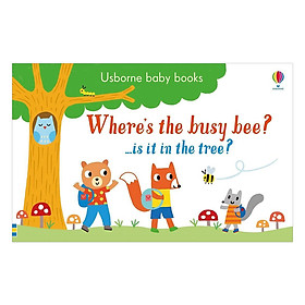 Where's the Busy Bee? - Usborne Baby Books (Board book)