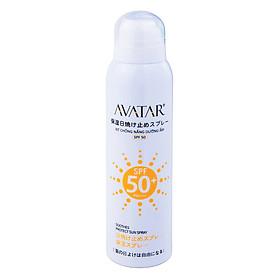 Xịt chống nắng dưỡng ẩm AVATAR SPF 50
