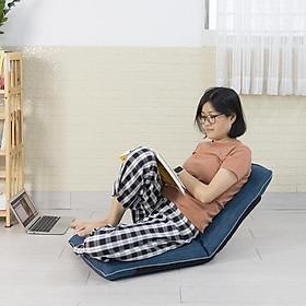 Medical 360 Xanh - Ghế ngồi thiền, ghế bệt tatami, ghế tựa lưng không chân tùy chỉnh và xếp gọn đa năng