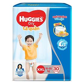Tã Quần Huggies Dry size XXL30 (30 miếng - cho bé 16-25kg)