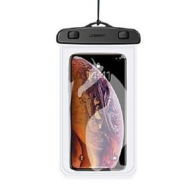 Túi đựng điện thoại chống nước tiêu chuẩn IPX 8 độ sâu 10m cho màn hình từ 4 đến 6.5 inch UGREEN 60959 50919 - Hàng chính hãng