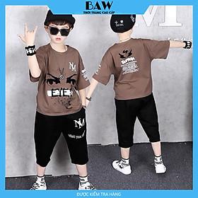 Set Đồ Bé Trai phong cách hàn quốc, thời trang trẻ em thương hiệu BAW mã 66