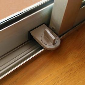 Chốt khóa cửa trượt, cửa kính  - An toàn cho trẻ nhỏ, chống trộm