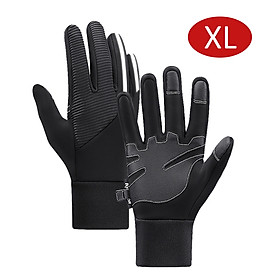 Gloves Hand Warmer Gloves Sensitive Screen Touching/ Waterproof/ Elastic Cuffs/ Reflective Stripe/ Finger Joint