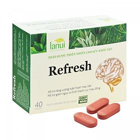 Thực phẩm chức năng Viên uống Bổ Não LANUI REFRESH