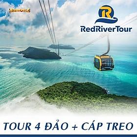 Tour Cano 4 Đảo - Cáp Treo Hòn Thơm, Phú Quốc - Thưởng Thức Rainbow Show, Bữa Trưa Trên Nhà Hàng Nổi, Chụp Hình Flycam, Khởi Hành Hàng Ngày, Đón Trung Tâm Dương Đông (Dịch Vụ Thêm: Lặn Bình Khí)