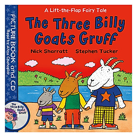 The Three Billy Goats Gruff: Book and CD Pack (Lift-the-Flap Fairy Tales)