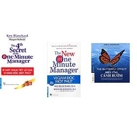 Combo 3 cuốn sách: Bí Mật Chưa Tiết Lộ Của Vị Giám Đốc Một Phút + Vị Giám Đốc Một Phút +  Hiệu Ứng Cánh Bướm