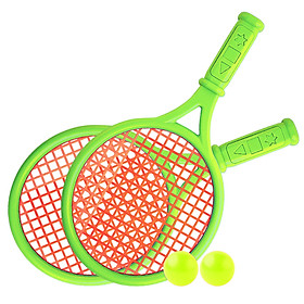 Kids Tennis Racquet Set Children Funny Tennis with Balls for Home Garden Beach Outdoor School Training Sport