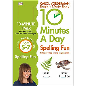 Spelling Fun Ages 5-7