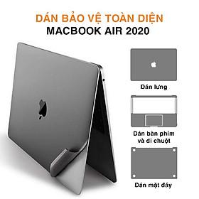 Dán 5in1 Macbook Air 2020/ Macbook Air M1 - 5 trong 1 chính hãng JRC - Bảo vệ toàn diện Macbook - Hàng Nhập Khẩu