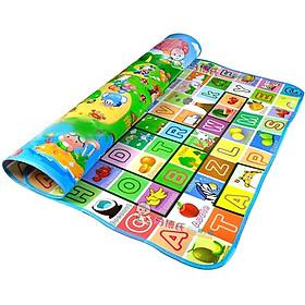 Thảm xốp chơi 2 mặt cho bé yêu 1,8 x 2m
