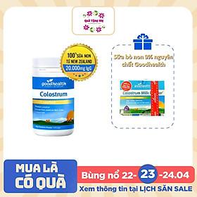 Sữa bò non 100% nguyên chất Goodhealth 100% Pure Colostrum (100gr) + Quà tặng Sữa bò non 9% nguyên chất Goodhealth (20 x 3g)