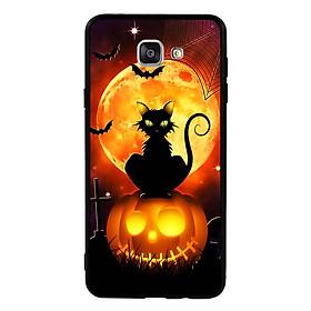 Hình đại diện sản phẩm Ốp lưng Halloween viền TPU cho điện thoại Samsung Galaxy A9 Pro - Mẫu 05