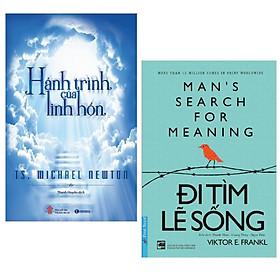 Combo 2 cuốn sách về kĩ năng sống hay :  Hành Trình Của Linh Hồn + Đi Tìm Lẽ Sống ( Tái Bản ) (Tặng kèm Bookmark thiết kế AHA)