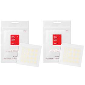 Combo 2 Miếng dán xẹp mụn nhanh chóng COSRX Acne Pimple Master Patch (Gồm 24 miếng dán) x 2