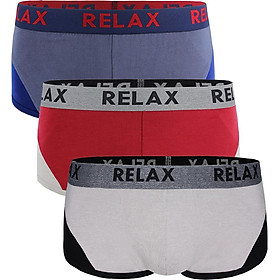 Combo 3 quần lót Relax nam RLTK043 (Màu Ngẫu Nhiên)