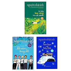 Combo 3 Cuốn Sách Đặc Sắc Của Nguyễn Nhật Ánh: Tôi Thấy Hoa Vàng Trên Cỏ Xanh + Lá Nằm Trong Lá (Bìa Mềm) + Làm Bạn Với Bầu Trời (Bìa Mềm)