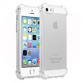 Ốp Lưng Dẻo Chống Sốc Phát Sáng dành cho iPhone 5/5S/5SE Case (Trong Suốt) - Hàng nhập khẩu