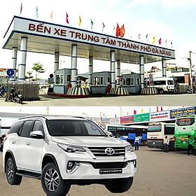 Xe 7 chỗ đón - tiễn bến xe Đà Nẵng
