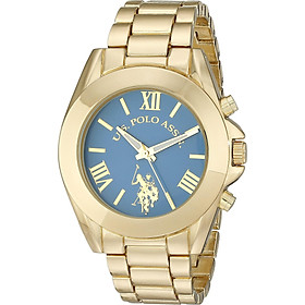 U.S. Polo Assn. Women's USC40048 Gold-Tone Bracelet Watch