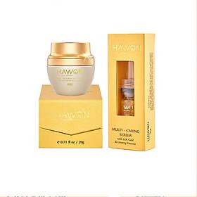 Kem Face Đa Năng 20g & Tinh Chất Serum Đa Năng 10ml Hawon Gold