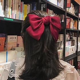 Cài kẹp tóc nơ bướm BẢN TO tiểu thư công chúa quà tặng xinh xắn dễ thương tặng ảnh Vcone