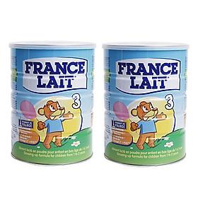 Combo 2 hộp Sữa bột France Lait số 3 (900g)  -  Dinh dưỡng cho trẻ từ 1 -3 tuổi