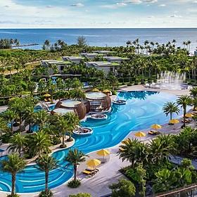 Gói 4N3Đ Pullman Beach Resort 5* Phú Quốc - Buffet Sáng, Xe Đón Tiễn Sân Bay, Hồ Bơi, Bãi Biển Riêng, Dành Cho 02 Người Lớn Và 02 Trẻ Em Dưới 12 Tuổi