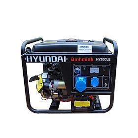 Máy phát điện Hyundai 2Kw chạy xăng (đề nổ)