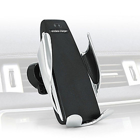 Automatic Clamping Wireless Car Charger For Phone Air Vent Phone Holder 360 Degree Rotation Auto Charging Mount