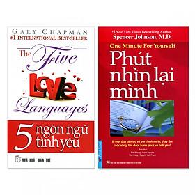 Combo 2 cuốn: 5 Ngôn Ngữ Tình Yêu, Phút Nhìn Lại Mình (Kèm 2 CD)