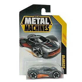 Đồ Chơi Xe Đua Tốc Độ 3 Inch Zuru Metal Machines 6708 - Scorpio - Màu Xám