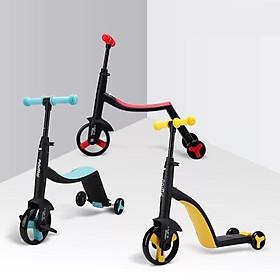 Xe Trượt Scooter 3 in 1 - (Trượt Scooter-Xe Chòi Chân- Xe Đạp Nadle) - dòng xe hiện đại với thiết kế cực kì thông minh, được tích hợp trong 1 sản phẩm rất tiện dụng, đưa lại cho bé trải nghiệm thú vị bổ ích và an toàn.
